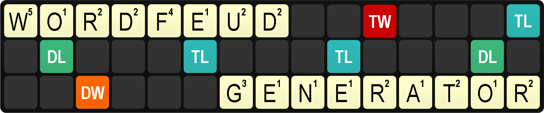 Wordfeud generator
